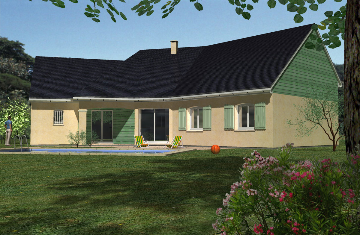 Constructeur maison modle auriga loire atlantique 44 for Construction maison originale